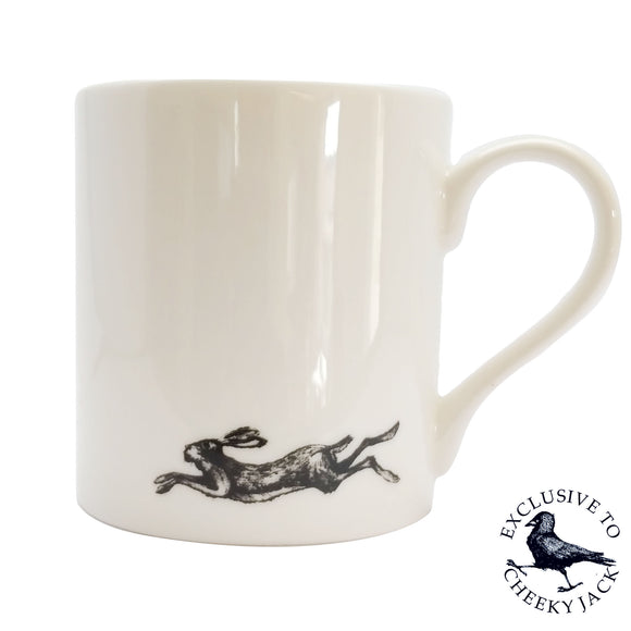 Cheeky Jack - Running Hares - Chown of Cornwall - Fine Bone China - Cornwall - Designer - [Product_type], [Product_vendor]