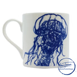 Sealife - Jellyfish Duo - Chown of Cornwall - Fine Bone China - Cornwall - Designer - [Product_type], [Product_vendor]