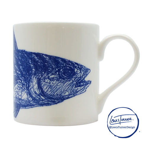 Sealife - Mackerel - Chown of Cornwall - Fine Bone China - Cornwall - Designer - [Product_type], [Product_vendor]