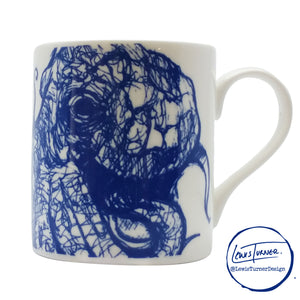 Sealife - Octopus - Chown of Cornwall - Fine Bone China - Cornwall - Designer - [Product_type], [Product_vendor]
