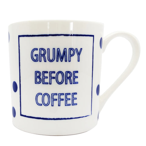 "Cobalt Quotes - ""Grumpy Before Coffee"""