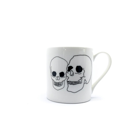 Skulls- Fine Bone China - Mug-Chown of Cornwall-Chown of Cornwall