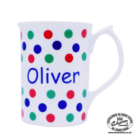 Primary Spots - Personalised Mug