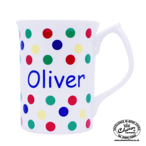 Primary Sunshine Spots - Personalised Mug