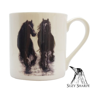 The Wild Horses - Chown of Cornwall - Fine Bone China - Cornwall - Designer - [Product_type], [Product_vendor]
