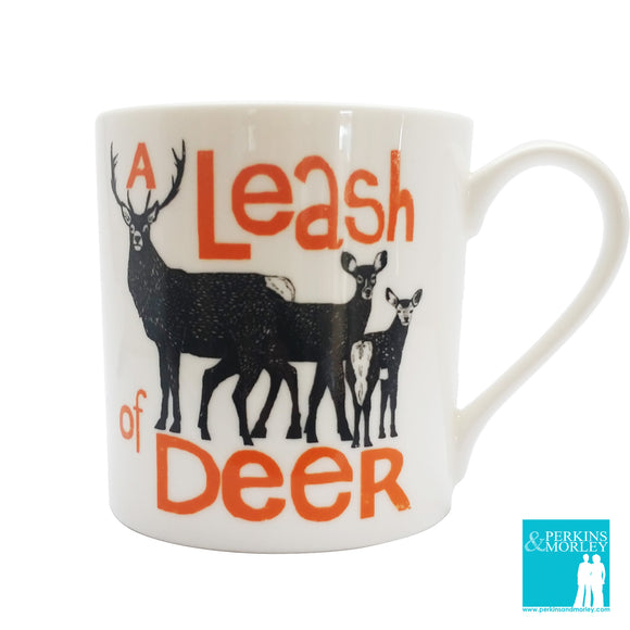 Collective Nouns - A Leash of Deer - Chown of Cornwall - Fine Bone China - Cornwall - Designer - [Product_type], [Product_vendor]