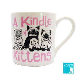Collective Nouns - A Kindle of Kittens - Chown of Cornwall - Fine Bone China - Cornwall - Designer - [Product_type], [Product_vendor]