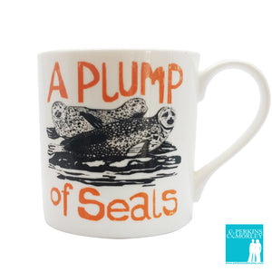 Collective Nouns - A Plump of Seals - Chown of Cornwall - Fine Bone China - Cornwall - Designer - [Product_type], [Product_vendor]