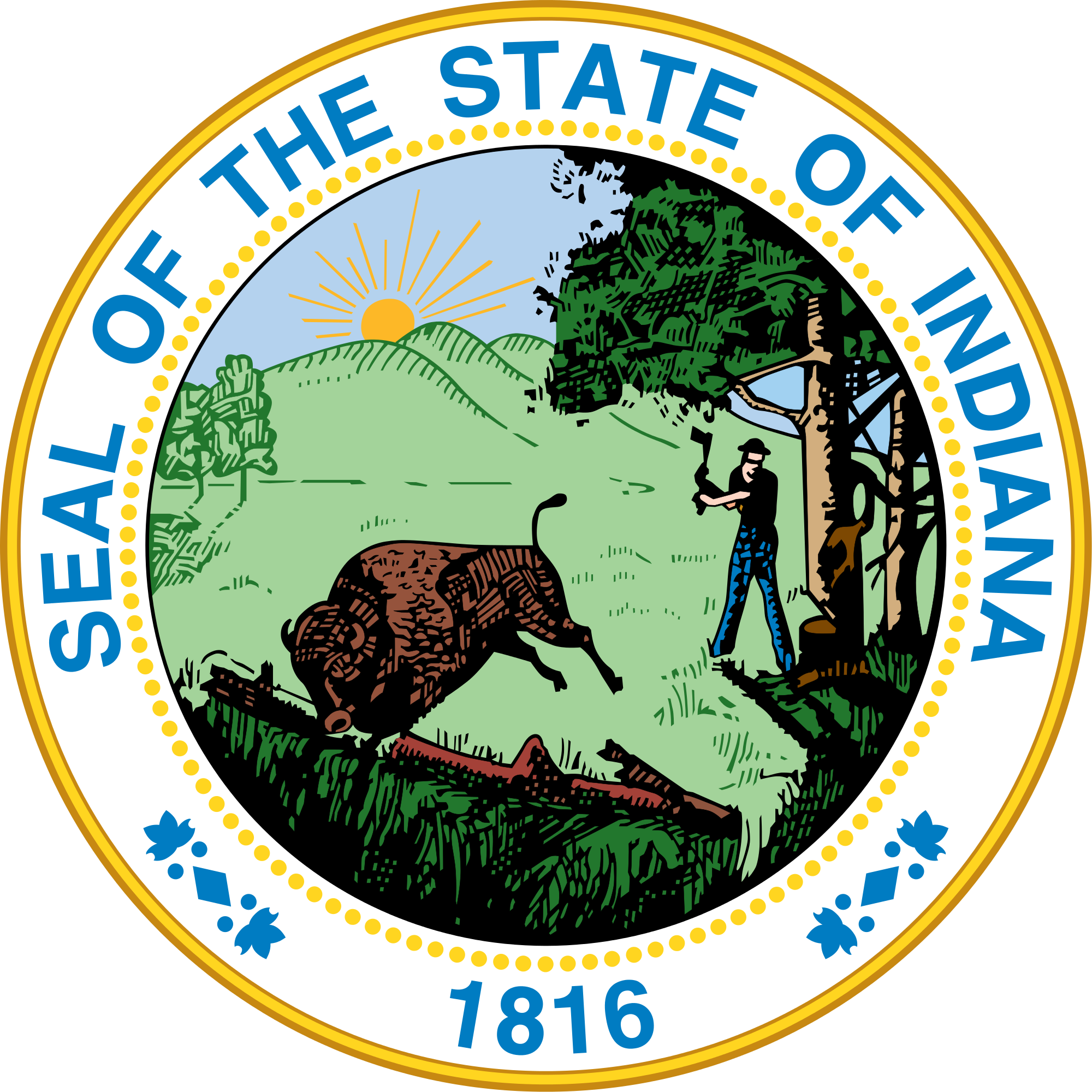 Seal of the Great State of Indiana