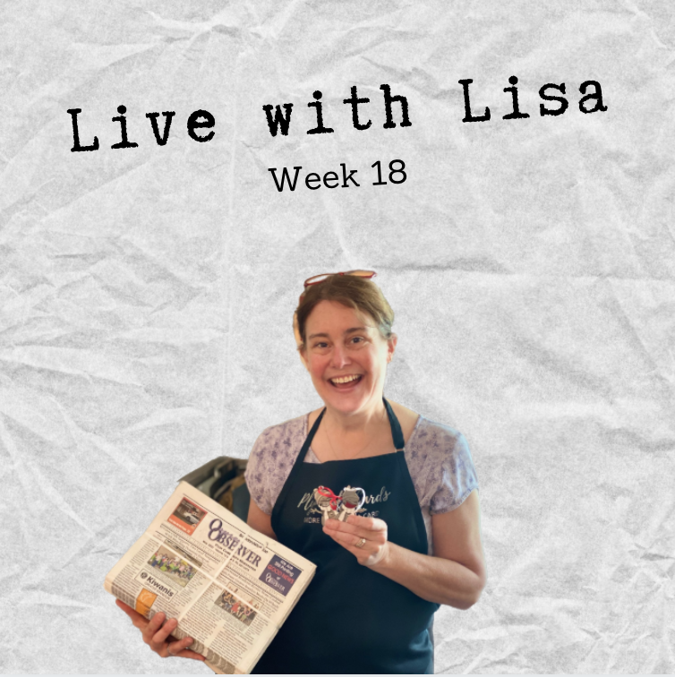 Live with Lisa Week 18-Plymouth Cards