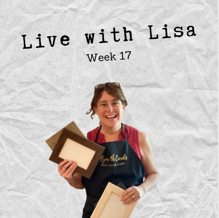 Live with Lisa Week 17: Picture Frames, Gift Tags & More!-Plymouth Cards
