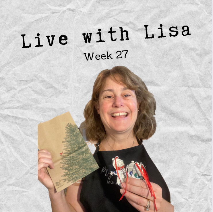 Live with Lisa: Week 27-Plymouth Cards