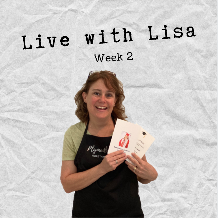Live with Lisa Week 2: Ivory Cards, Custom Printing-Plymouth Cards