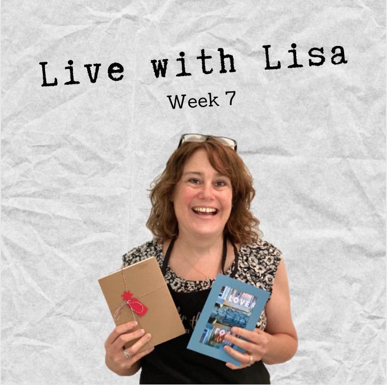 Live with Lisa Week 7: Shades of Blue & Special Collections-Plymouth Cards