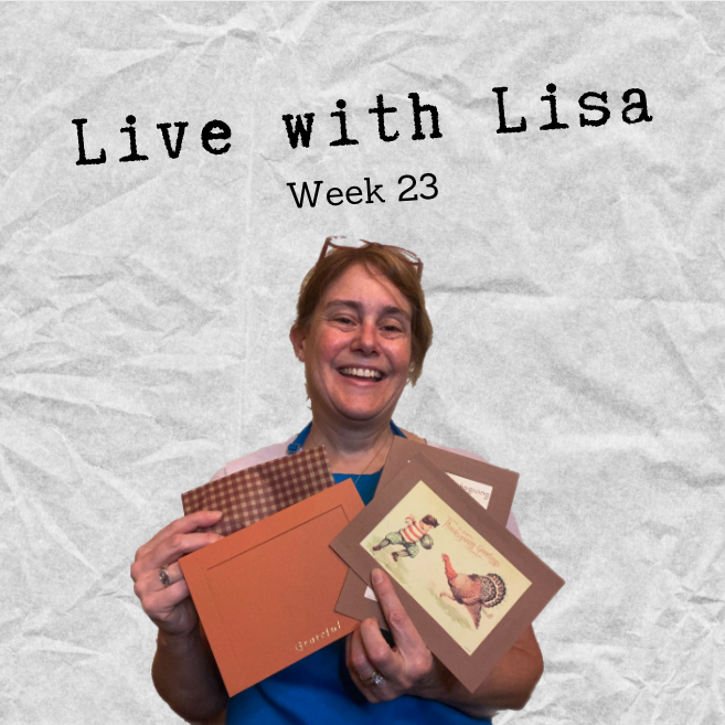 Live with Lisa Week 23: Fall Box 2020!-Plymouth Cards