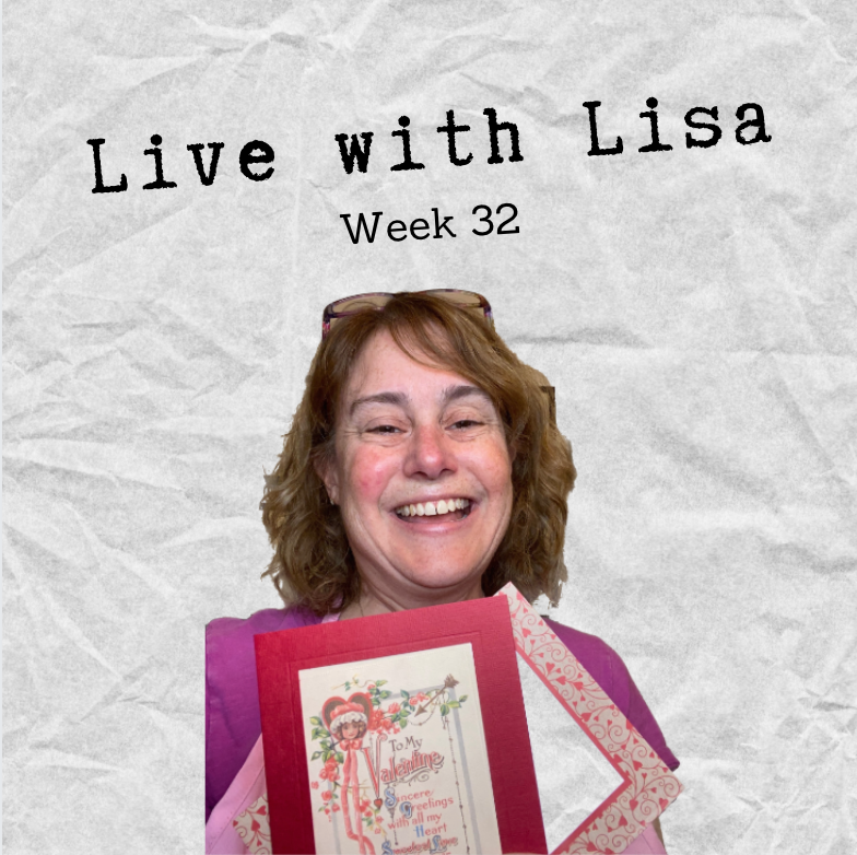 Live with Lisa Week 32: Greeting Cards, New Year Ideas-Plymouth Cards