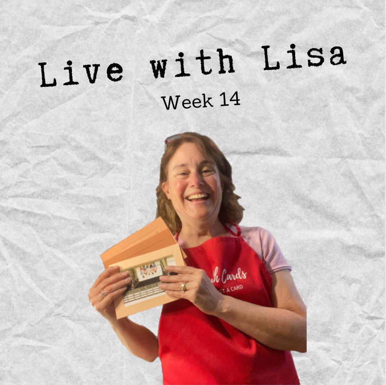 Live with Lisa Week 14: Reading Customer Reviews-Plymouth Cards