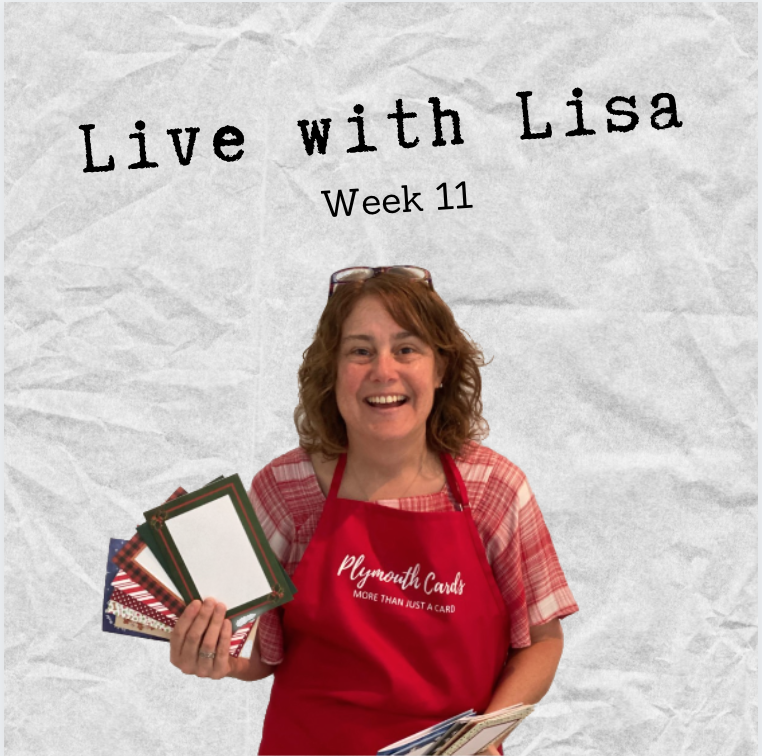 Live with Lisa Week 11: Christmas in July!-Plymouth Cards