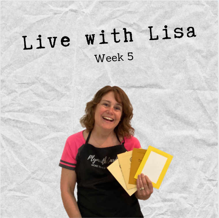 Live with Lisa Week 5: Father's Day Cards, Yellow and Teal Cards-Plymouth Cards