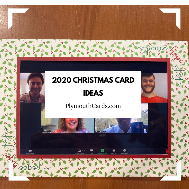5 Fun Christmas Card Ideas for 2020   Plymouth Cards