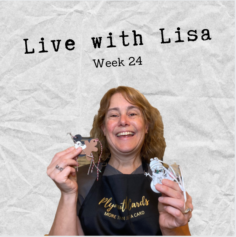 Live with Lisa Week 24: Camouflage Clarences!?-Plymouth Cards