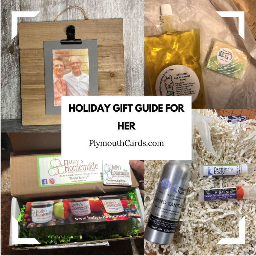 Holiday Gift Guide For Her-Plymouth Cards