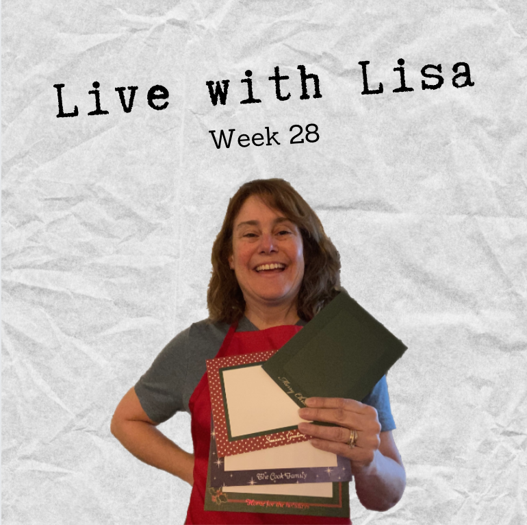 Live with Lisa Week 28-Plymouth Cards