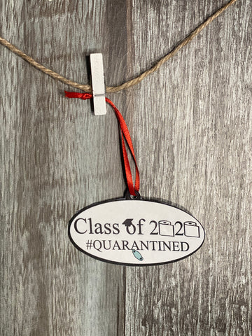 Class of 2020 Quarantined ornament