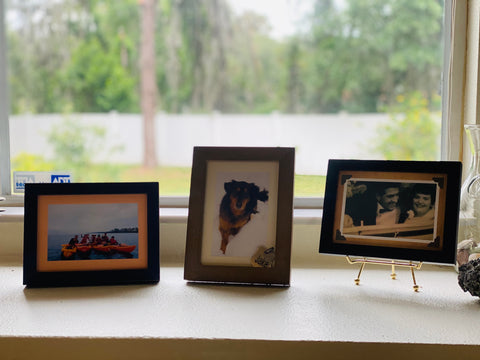 Photo frame display | Plymouth Cards