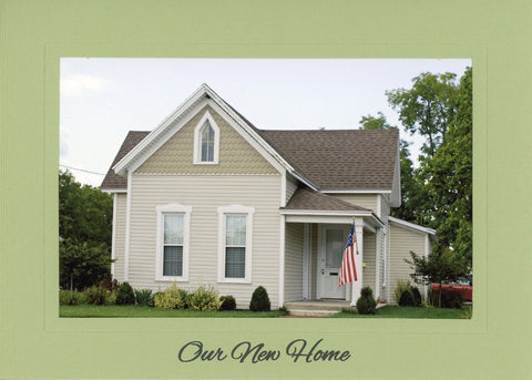 Our New Home photo greeting card