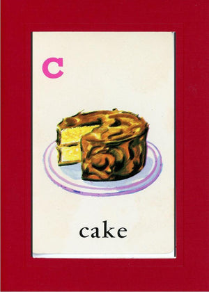 C is for Cake - PLYMOUTH CARD COMPANY  - 24