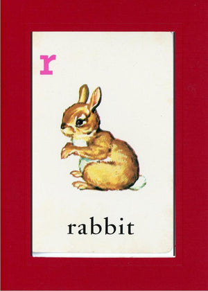 R is for Rabbit - PLYMOUTH CARD COMPANY  - 19
