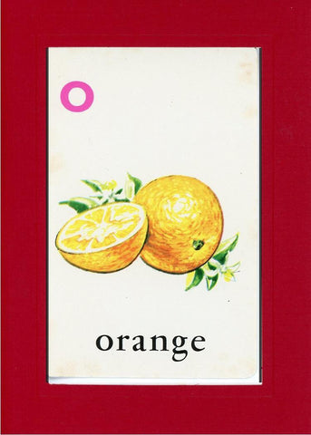 O is for Orange - PLYMOUTH CARD COMPANY  - 19