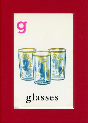 G is for Glasses - PLYMOUTH CARD COMPANY  - 25