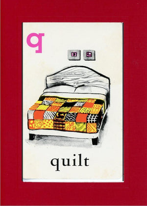 Q is for Quilt - PLYMOUTH CARD COMPANY  - 20