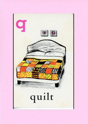 Q is for Quilt - PLYMOUTH CARD COMPANY  - 21