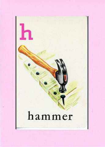 H is for Hammer - PLYMOUTH CARD COMPANY  - 29