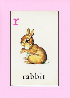 R is for Rabbit - PLYMOUTH CARD COMPANY  - 20