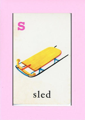S is for Sled - PLYMOUTH CARD COMPANY  - 21
