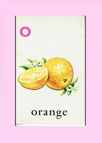 O is for Orange - PLYMOUTH CARD COMPANY  - 20