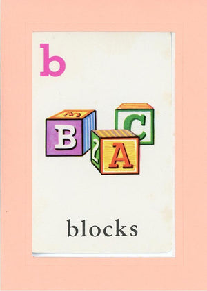 B is for blocks - PLYMOUTH CARD COMPANY  - 23