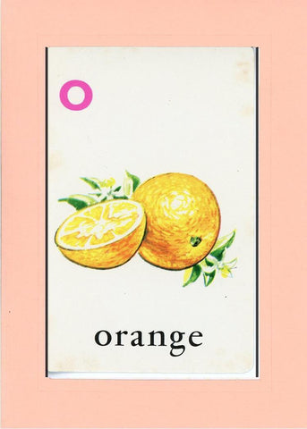 O is for Orange - PLYMOUTH CARD COMPANY  - 21