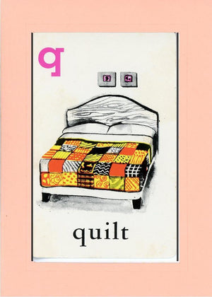 Q is for Quilt - PLYMOUTH CARD COMPANY  - 22