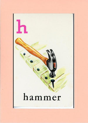 H is for Hammer - PLYMOUTH CARD COMPANY  - 24