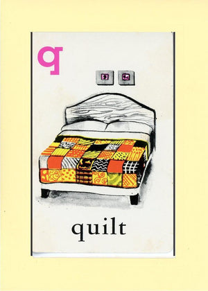 Q is for Quilt - PLYMOUTH CARD COMPANY  - 23