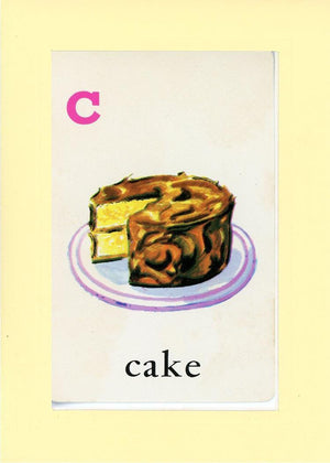 C is for Cake - PLYMOUTH CARD COMPANY  - 30