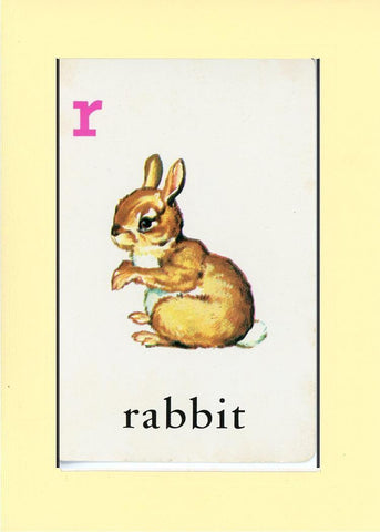 R is for Rabbit - PLYMOUTH CARD COMPANY  - 23