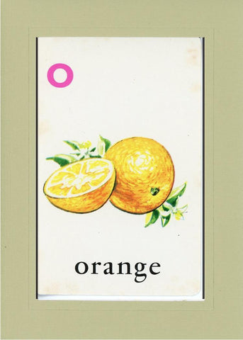 O is for Orange - PLYMOUTH CARD COMPANY  - 23