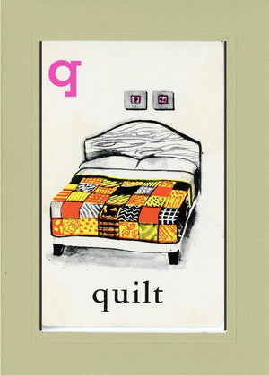 Q is for Quilt - PLYMOUTH CARD COMPANY  - 24
