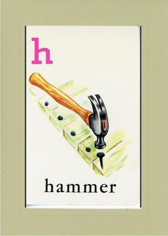 H is for Hammer - PLYMOUTH CARD COMPANY  - 26